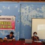 Pelaksanaan Musyawarah Masyarakat Desa (Mmd) Di Kampung Juaq Asa 29 Agustus 2020